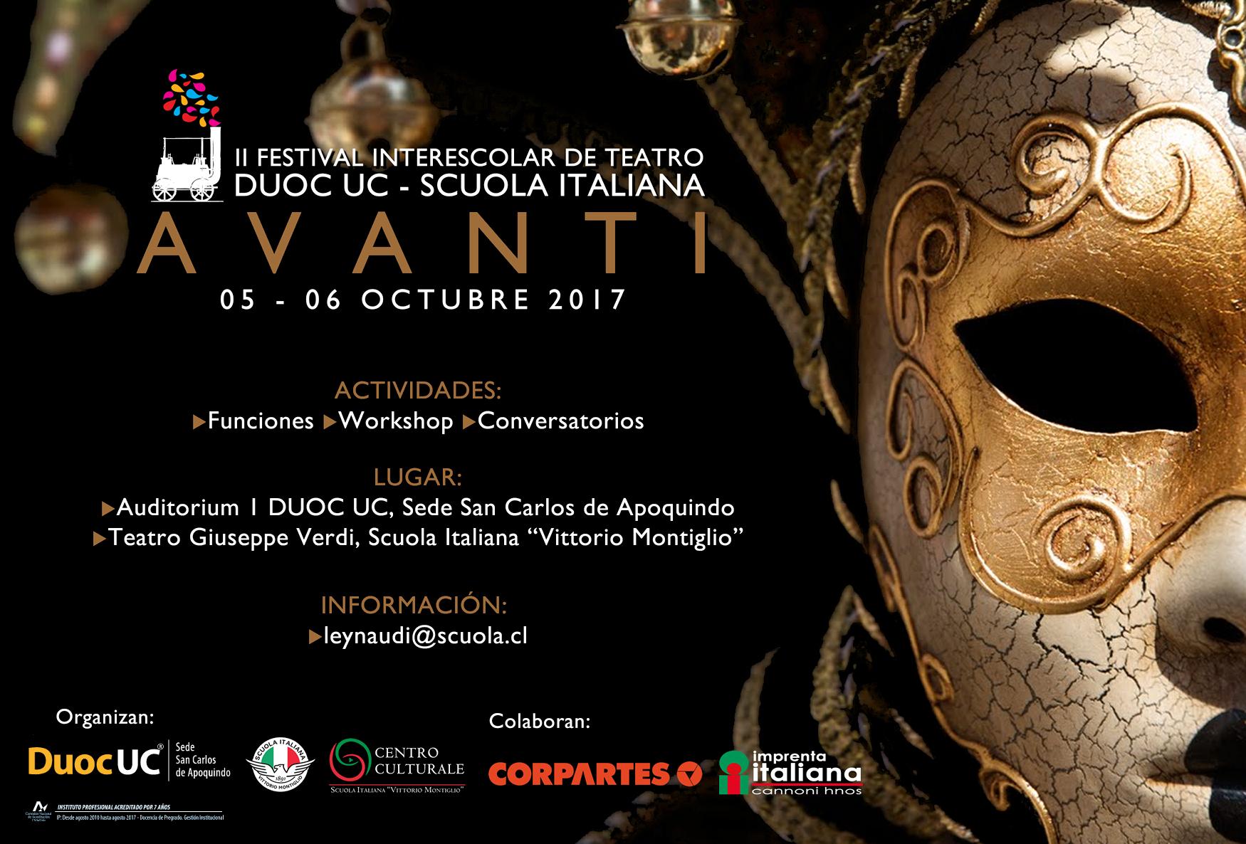 AFICHE AVANTI 2017_nuevo_logo_duoc_2